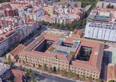 BIPV. Edificio Tabacalera. Valencia, España.