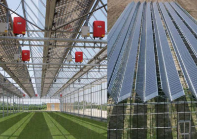 Invernadero Fotovoltaico BIPV. Recanati, Italia. 246kWp