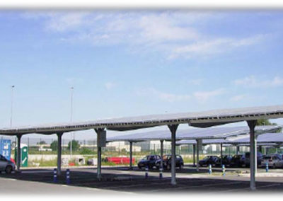 PV Parking Canopy.
