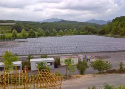Planta Fotovoltaica Hiroshima, Japón. 1.6 Mw.