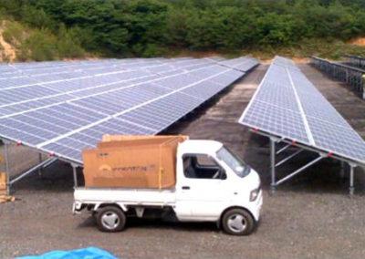 Planta Fotovoltaica. Tanaka, Japón. 2.2 Mw.