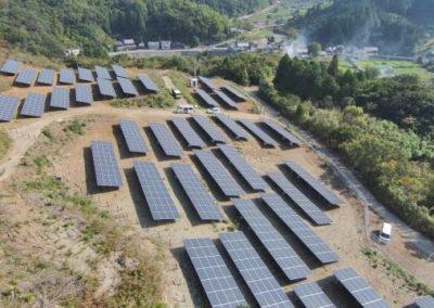 Planta Fotovoltaica. Kainan, Japón. 405.6kWp
