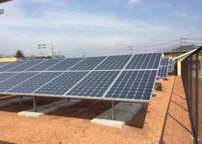 Planta Fotovoltaica. Kofu, Japón 99.8kW