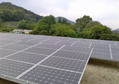Planta Fotovoltaica. Sano, Japón. 1.7 Mw.