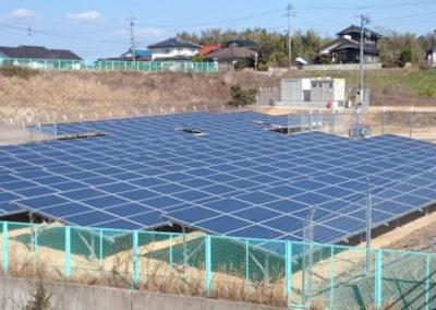 Planta Fotovoltaica. Yamaguchi, Japón. 612kWp