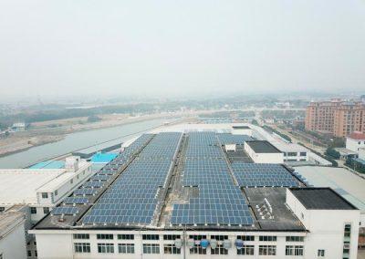 Shijia 640kW Solar Energy Plant. China